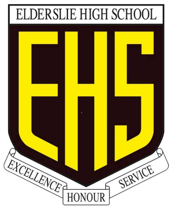 Elderslie High School logo